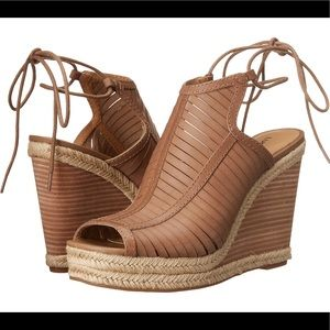 Lucky Brand Laceey Ankle Strap Wedge Sandal